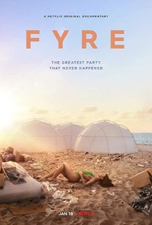 fyre documentary netflix poster