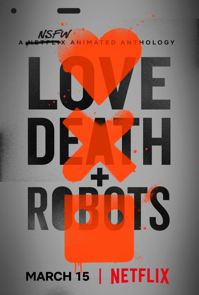 Love death robots netflix poster