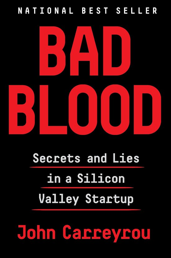 bad blood silicon valley boek